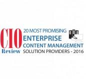 Ettevõtet DocLogix tunnustati ühena 2016. aasta kõige lootustandvamate äriühingute sisuhalduslahenduste pakkujate seas